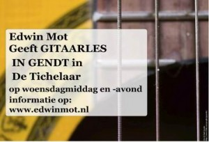 Gitaarles Gendt in de Tichelaar