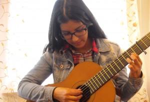 Youssra gitaarles Arnhem
